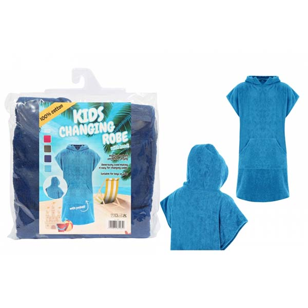 Hooded Changing Robe - Childs